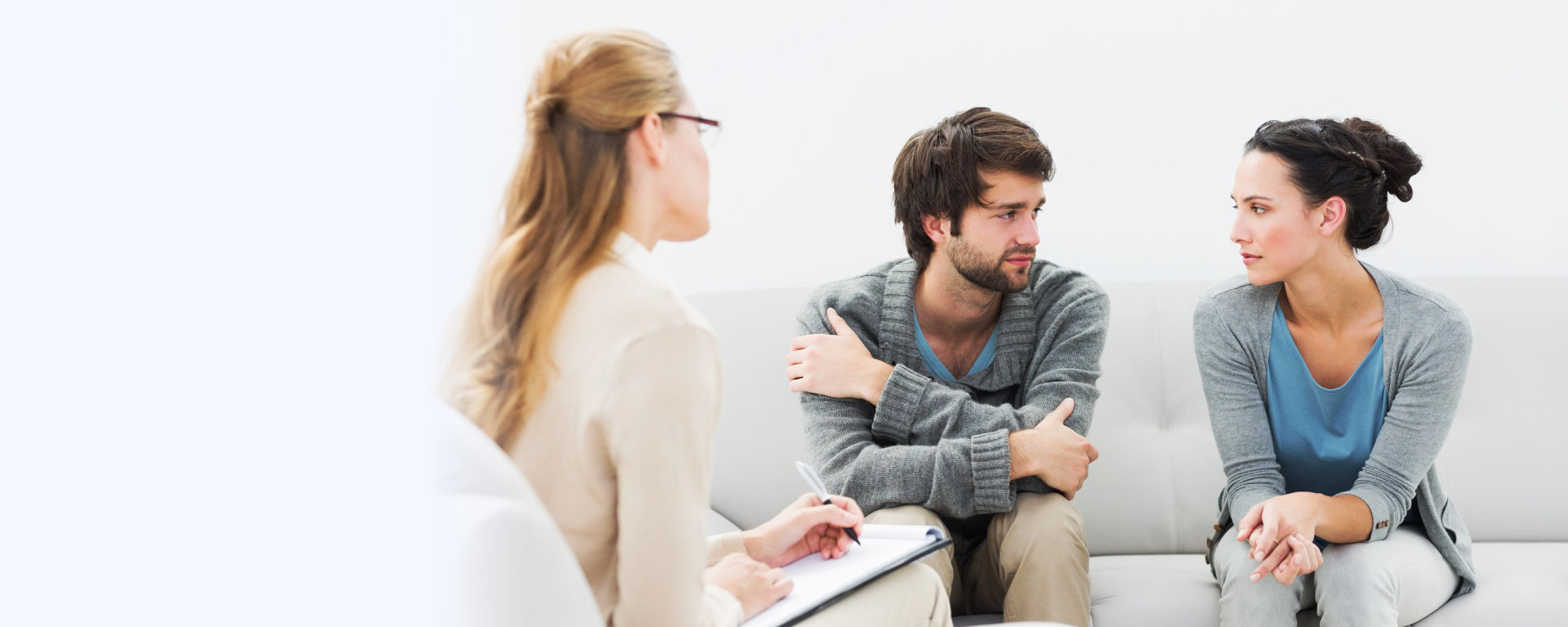 couple's therapy session